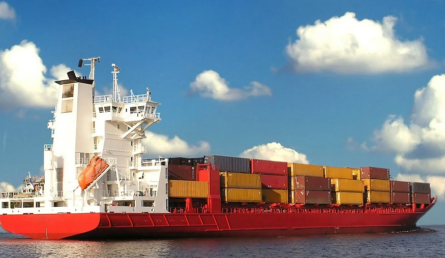 Container Ship hydrogen - Image of container ship