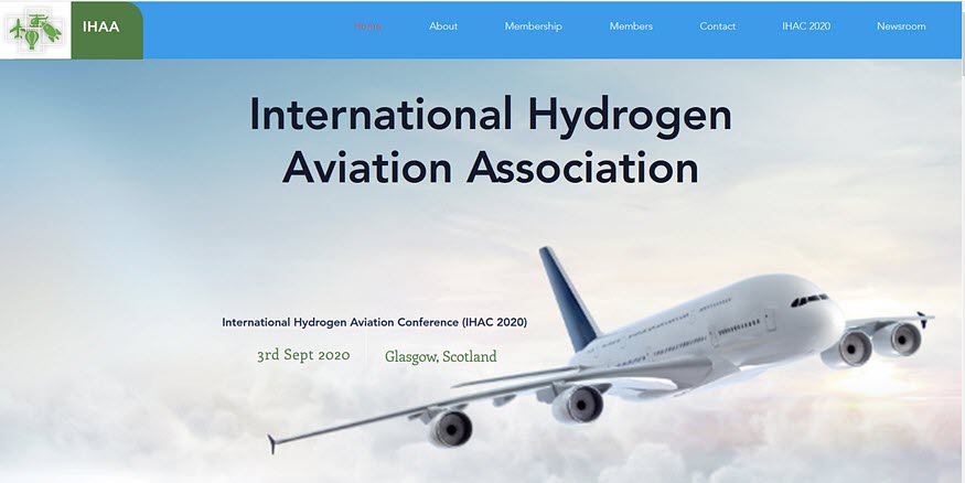 International Hydrogen Aviation Association (IHAA) Launches Website