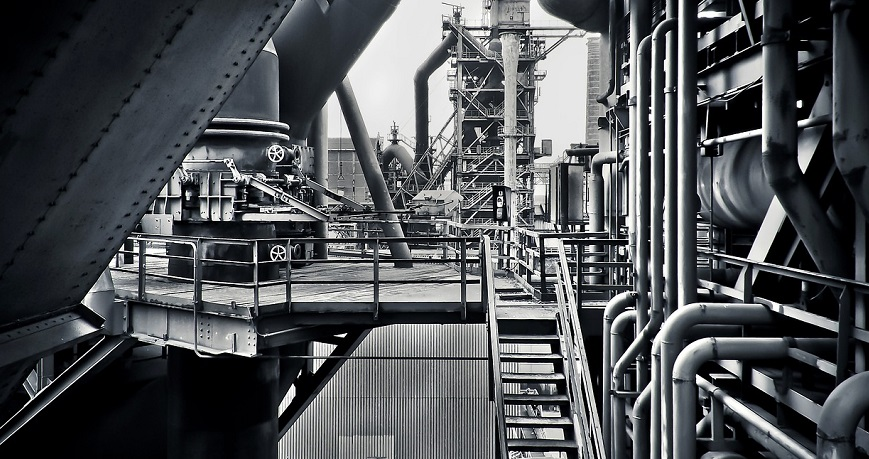 Sustainable steel industry - steel mill