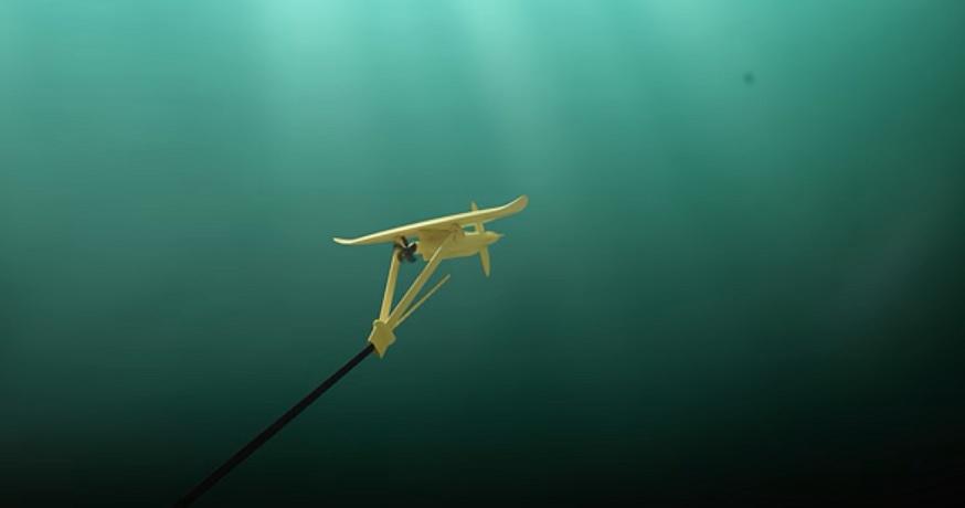 Tidal kite technology - Deep Green - Minesto YouTube