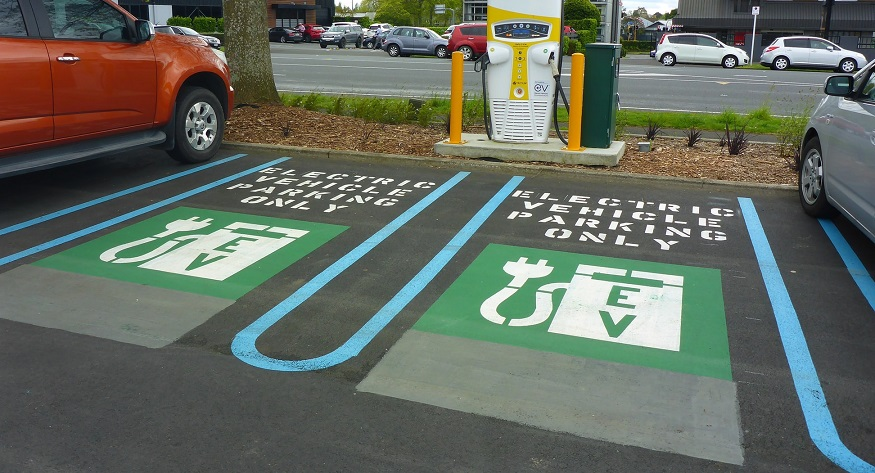 Electric car chargers - EVs charging