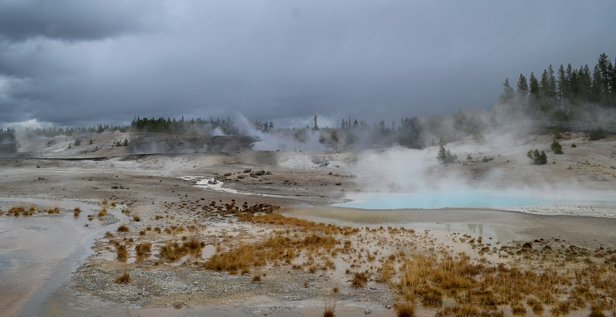 Geothermal energy on public lands - hot springs