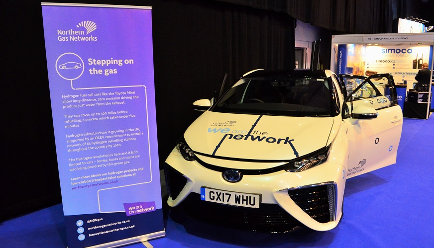 Zero-emission hydrogen vehicles - Northern Gas Network are working with Cenex, Wales and West Utilities, and EIC, to explore hydrogen fleets