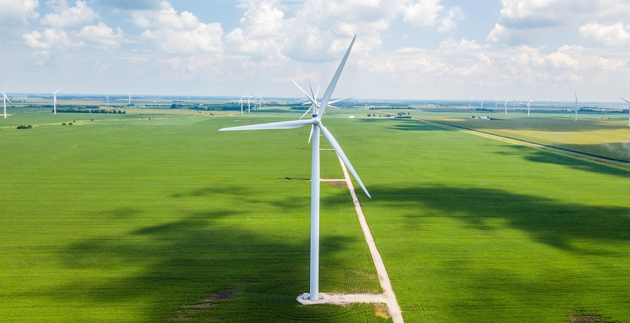 BP Wind Energy - Wind turbine farm