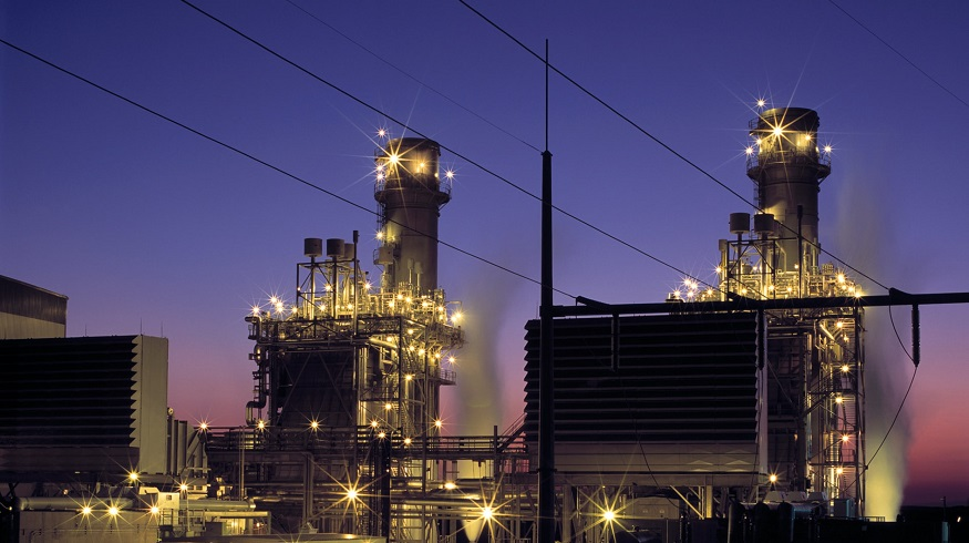 Blue hydrogen production - power plant