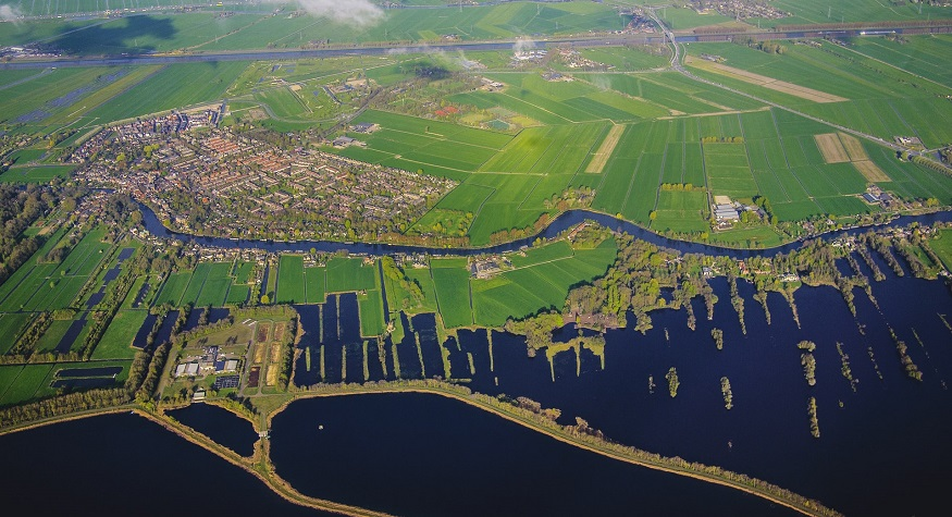 Brainport Smart District - The Netherlands skyview