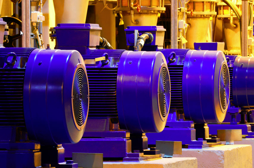 Electric Motors for Various Industrial Applications