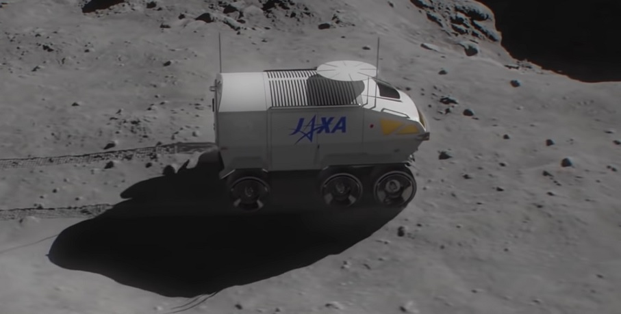 Hydrogen powered lunar rover - Toyota and JAXA - Engadget YouTube