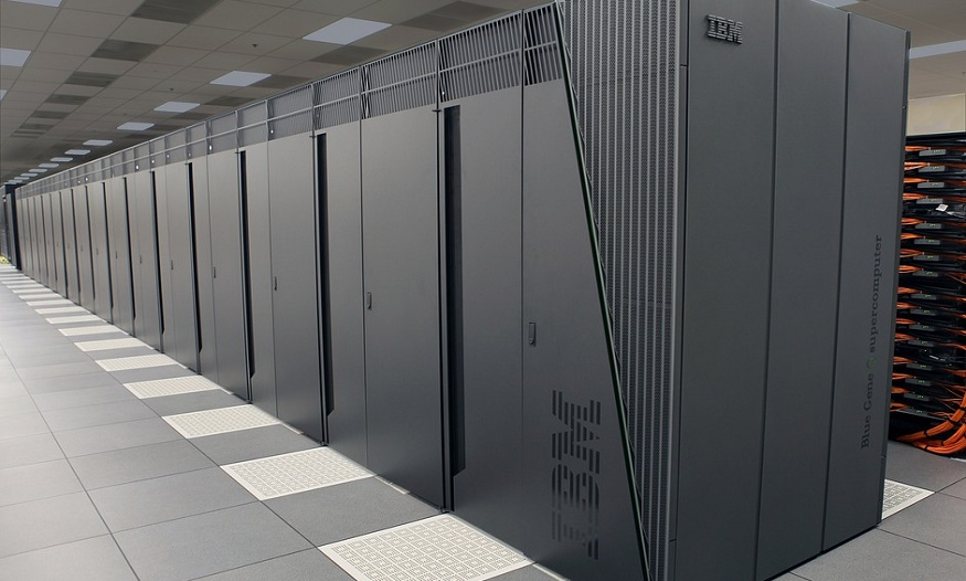 Wind energy supercomputers - IBM supercomputer