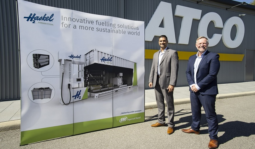 Haskel Hydrogen Systems and ATCO work together to boost hydrogen mobility