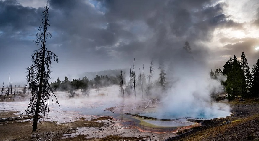 Geothermal water exploration - Geyser