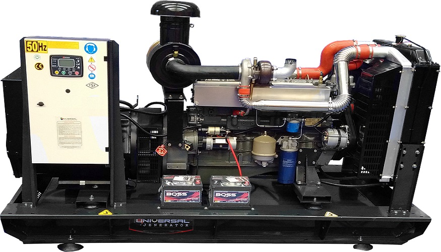Hydrogen fuel cell power technology - Image of diesel generator