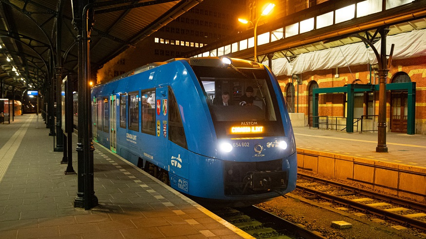 Alstom's Coradia iLint hydrogen train successful test results published
