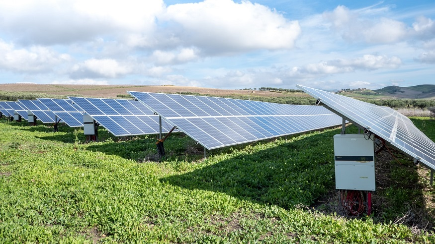 Multitown solar project - solar farm