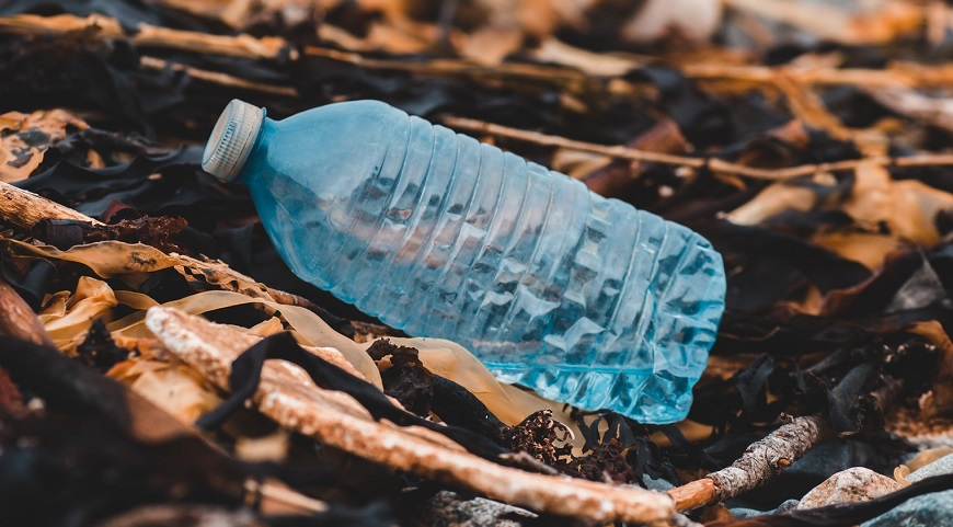 Plastic eating Super-enzyme - plastic bottle - waste