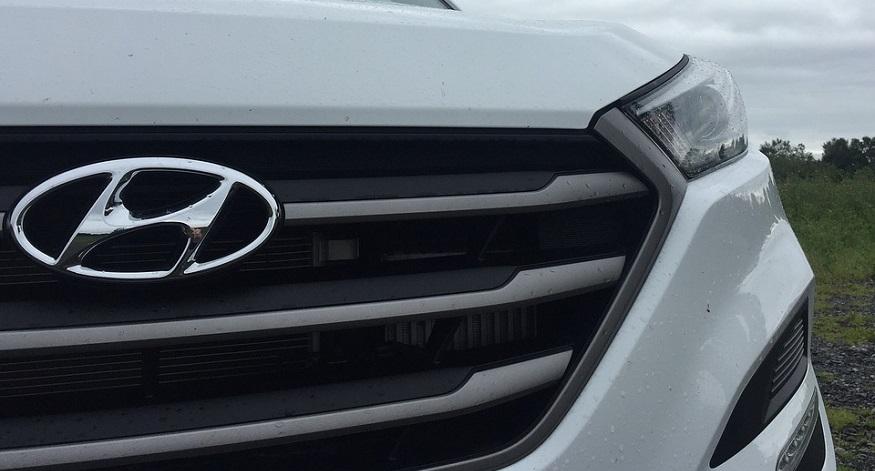 Zero emission hydrogen - Hyundai Logo