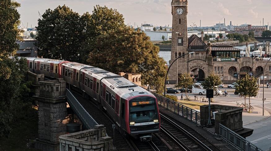 Local hydrogen trains - train in Germany