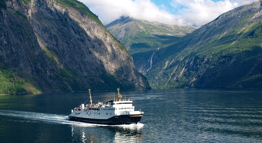 Emission-free Ferry - Geiranger fjord