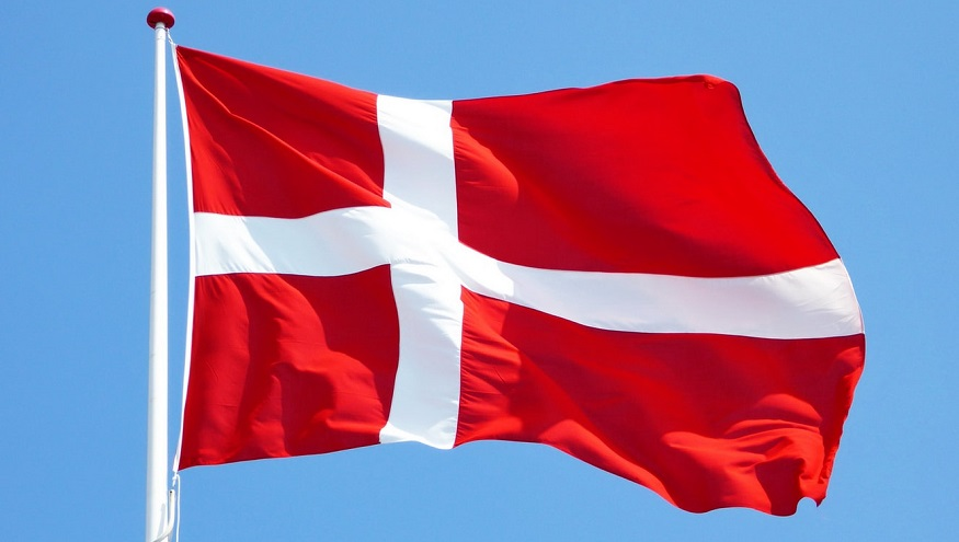 Green Hydrogen Hub - Flag of Denmark