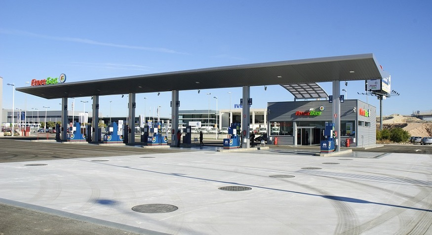 Hydrogen fueling infrastructure - Image of Gas Station