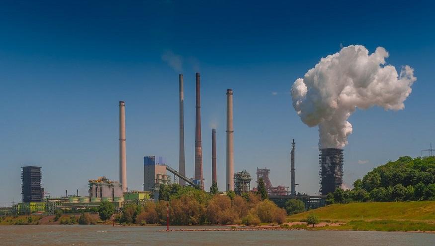 Duisburg Steel - Image of Steel Mill