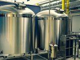 Green distilleries - brewery - tank