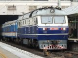 Fuel cell hybrid train - Train in China