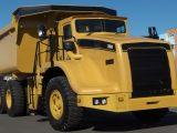Hydrogen fuel cell generator - image of an haul truck