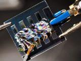Hydrogen fuel challenge - Image of solar cell design