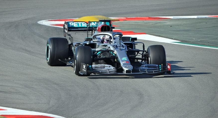 Hydrogen fuel technology - Mercedes - Formula 1 Car