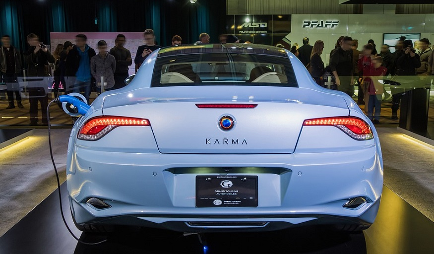 Hydrogen powered cars - Karma Vehicle