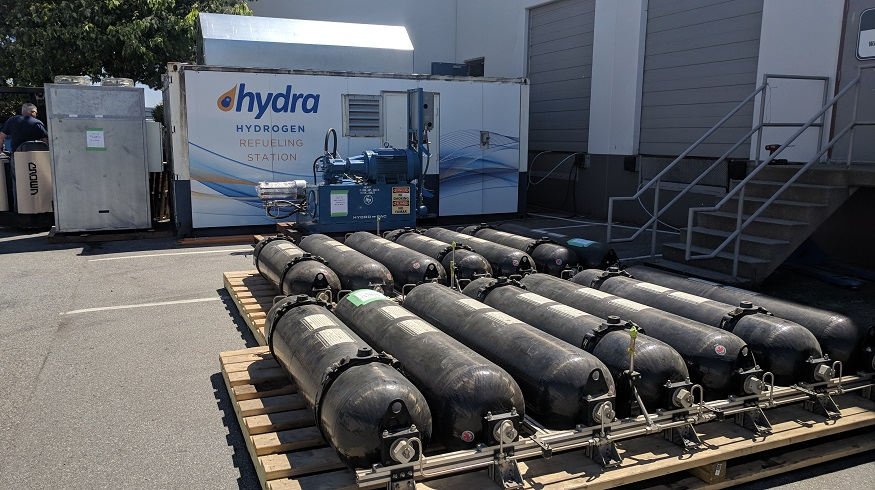 Low-Cost Green Hydrogen - Hydrogen Refueling - Hydra Energy