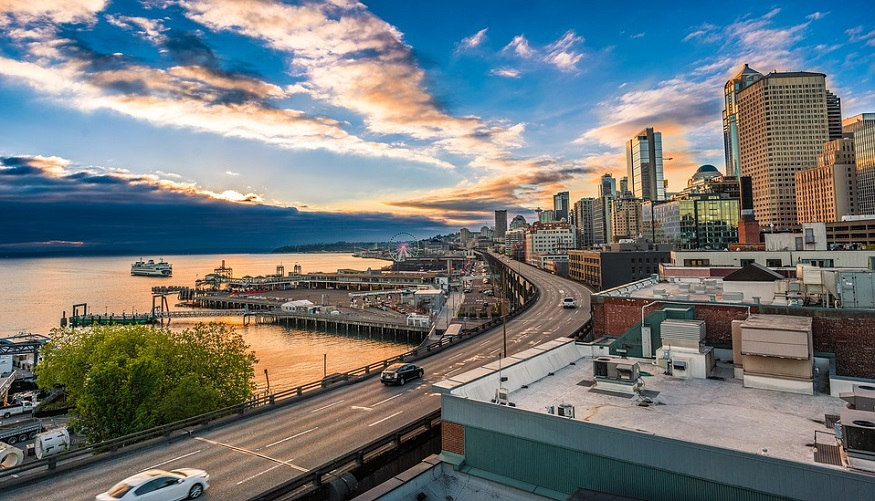 FCEV bill - Seattle Marina