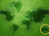 Green hydrogen fuel production potential - world map - Australia