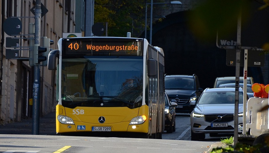 New hydrogen fuel cell buses - Bus in Germany