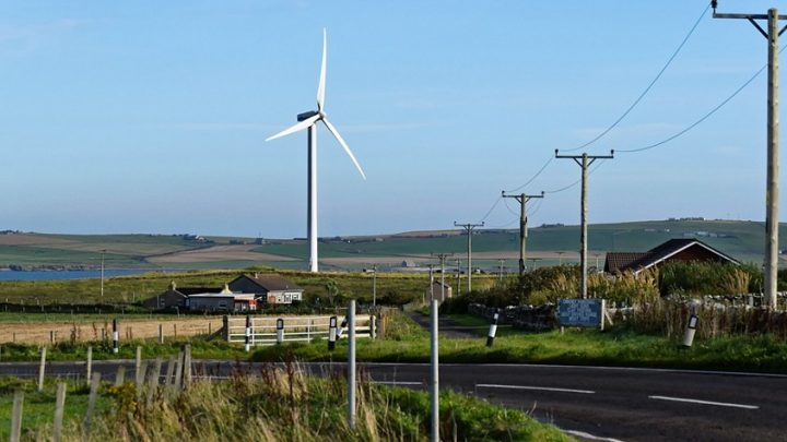 Renewable energy met 97 percent of Scotland's demand last year
