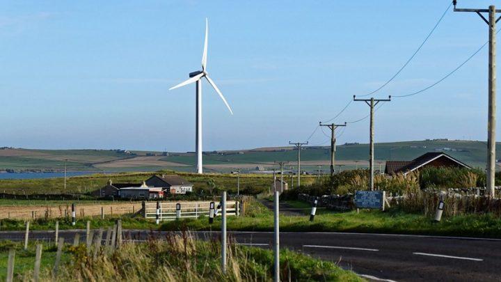 Renewable energy met 97 percent of Scotland's demand last year