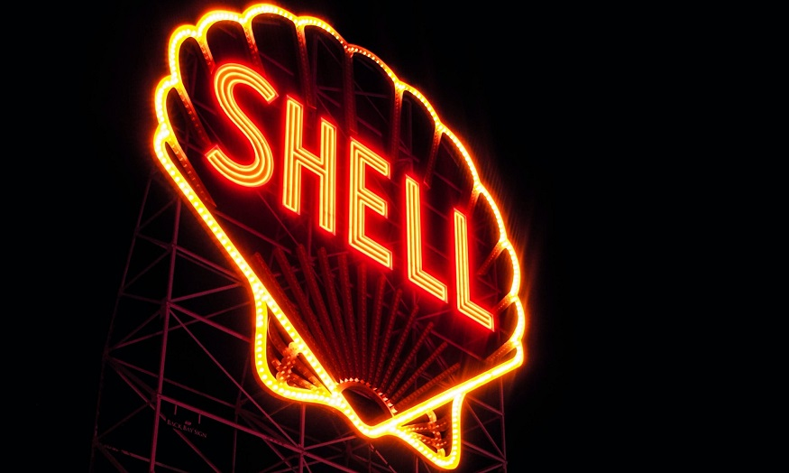 Renewable aviation fuel - Shell Sign