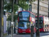 Zero-emission hydrogen fuel cell buses - double decker buses in London