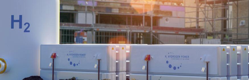 hydrogen in aviation gas storage for airplanes
