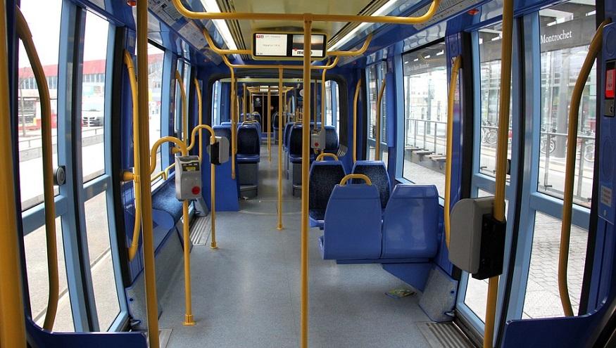 Blue hydrogen production - Inside of Bus