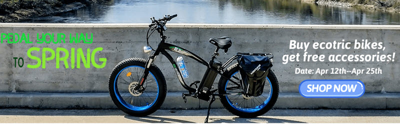 Spring Sale Electric Bike