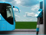 hydrogen fuel bus transportation