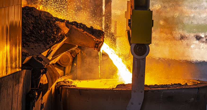 New 30% natural gas and hydrogen blend steel industry testing successfully completed