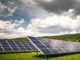 Hydrogen fuel station - solar farm