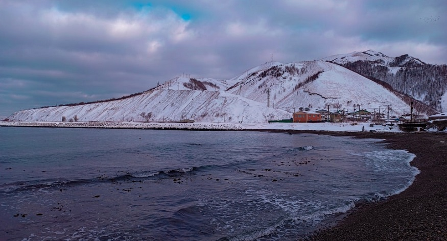 Low-carbon hydrogen - Image of shore in Sakhalin, Russia