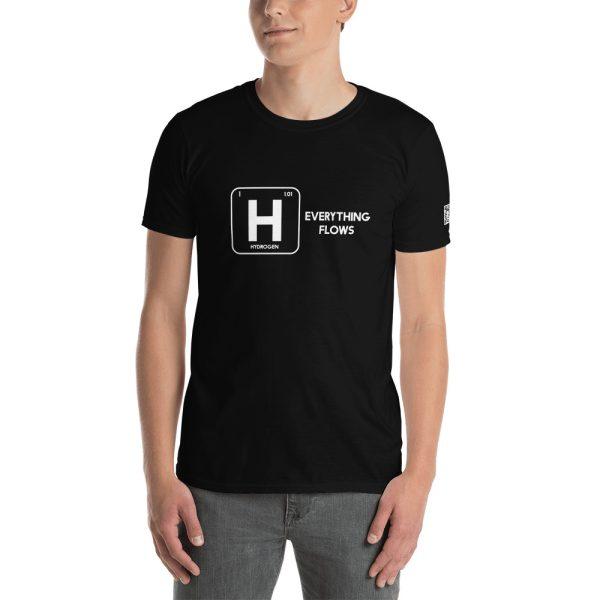 Hydrogen Everything Flows Short-Sleeve Unisex T-Shirt 37