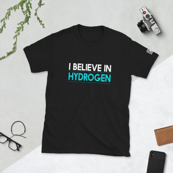 I Believe in Hydrogen Short-Sleeve Unisex T-Shirt 1