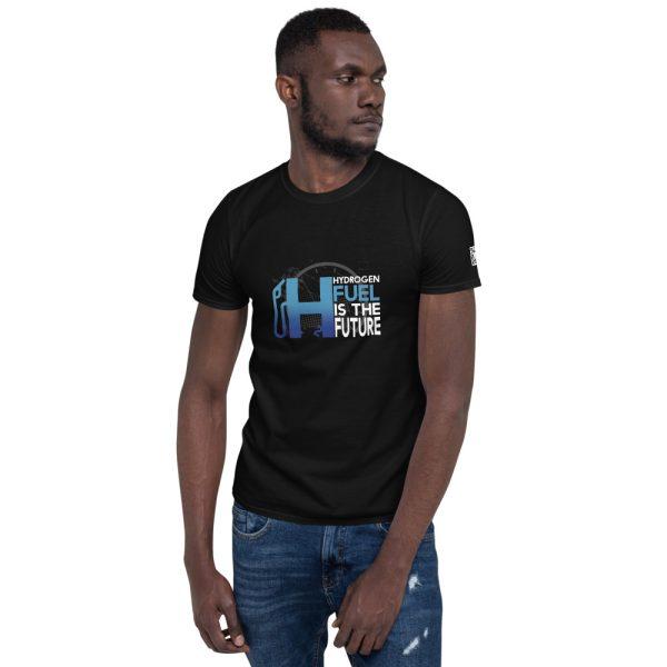 Hydrogen Future Short-Sleeve Unisex T-Shirt 9