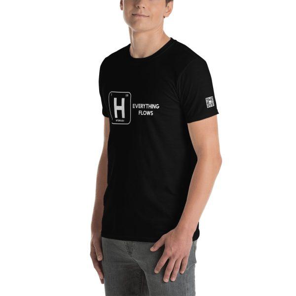 Hydrogen Everything Flows Short-Sleeve Unisex T-Shirt 18